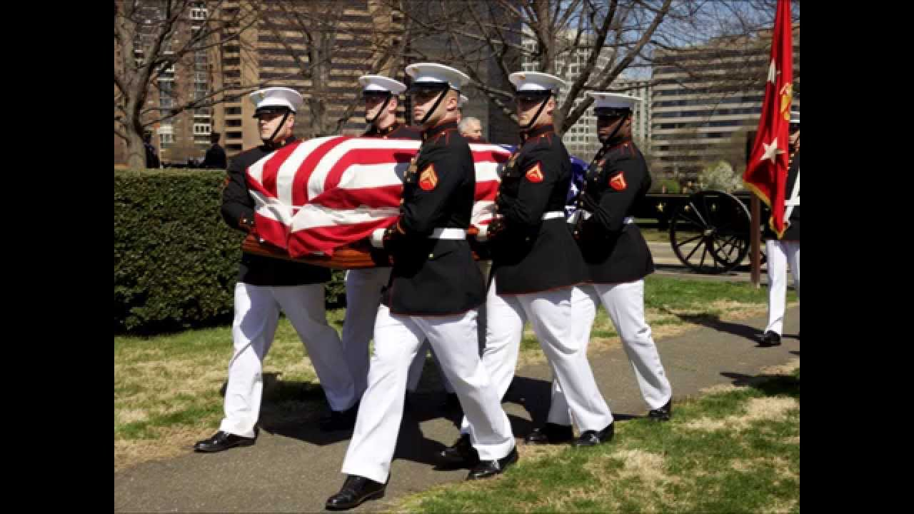 General Carl Mundy Funeral Service Commandant Of The