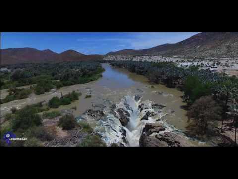 Epupa Falls - Aerial Impressions