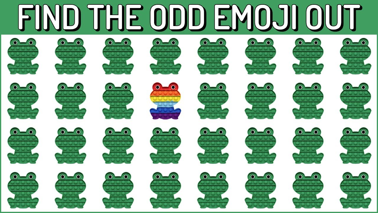 Download HOW GOOD ARE YOUR EYES #178 l Find The Odd Emoji Out l Emoji Puzzle Quiz