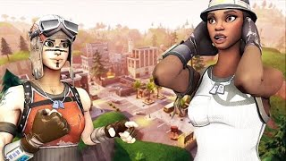a RECON EXPERT challenges a RENEGADE RAIDER to 1v1 for its FORTNITE ACCOUNT.