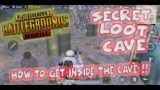 How To Get Inside Vikendi SECRET CAVE In Pubg Mobile !! PUBGM (2019)