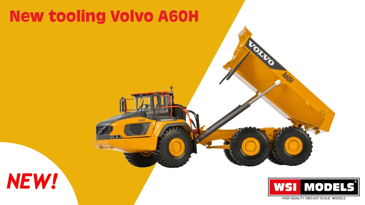 WSI Models - New tooling Volvo A60H - YouTube