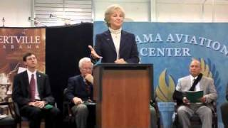 Hill comments about the future of the Alabama Aviation Center at Albertville