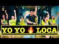 LOCA Yo Yo Honey Singh | Bollywood Zumba | Loca Easy Dance Steps | Vishal Choreography | Yo Yo Songs
