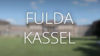 Fulda und Kassel   Deutschland-Pass-Tour 2015: Teil 4