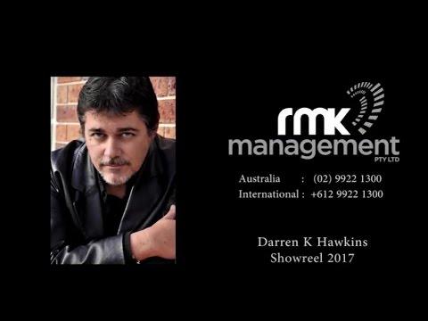 Darren K Hawkins - RMK Management - Actors Showreel 2017