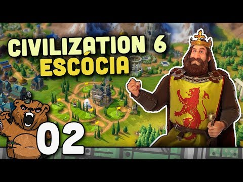 Missão Africa - Escócia #02 | Civilization 6 - Rise and Fall Português PT-BR