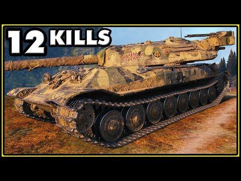 Object 705A - 12 Kills - World of Tanks Gameplay thumbnail