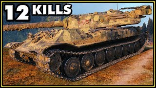 Object 705A - 12 Kills - World of Tanks Gameplay