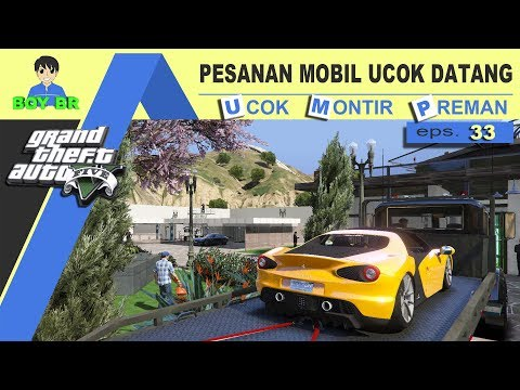 GTA 5 INDONESIA - REAL LIFE - UCOK DICARI POLISI #33