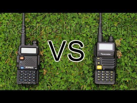UHF Range Test: Baofeng UV-5R VS Quansheng UV-R50