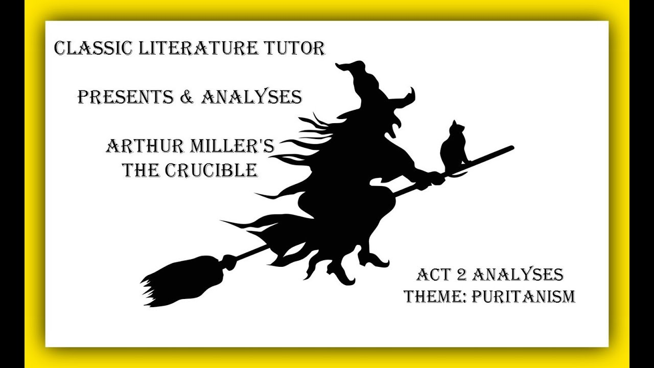an analysis of the characters in the novel the crucible by arthur miller The crucible, a play written in 1953, by arthur miller, details the salem witch trials that occurred in salem, massachusetts abigail, the main character in the play, manipulates the puritan town.