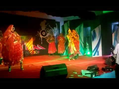 SNIT Adoor college day comedy dance by  mechanical