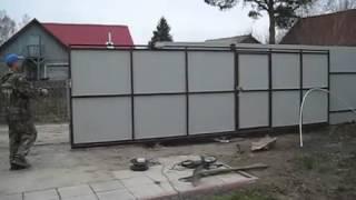Откатные ворота в Киеве(, 2013-11-01T17:11:01.000Z)