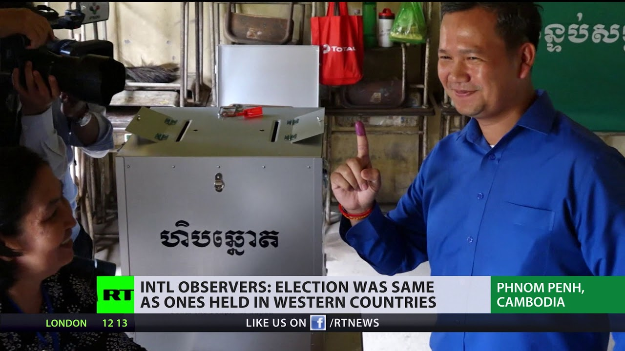 International observers: Election in Cambodia was same as ones held in Western countries