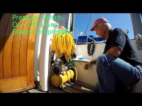 12 Volt Hookamax Diving System Set Up