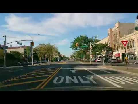 Grand Concourse Bronx New York City (NYC) North to South 201