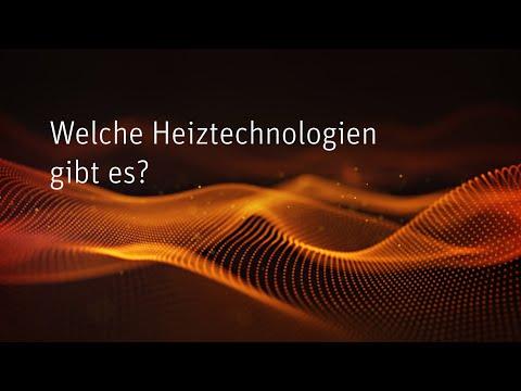 Welche Heiztechnologien gibt es?