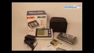 Автоматический тонометр на плечо DS-500 (Nissei, Япония)(Описание метод измерения - осциллометрический накачка манжеты - автоматическая снижение давления - автомат..., 2015-09-01T12:39:32.000Z)