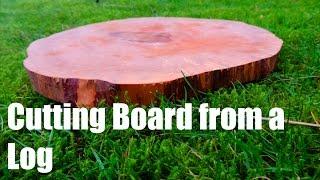 Log Cutting Board(s)