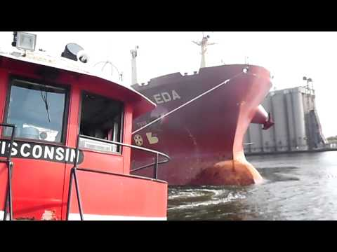 The Wisconsin, Oldest Active Tug on the Great Lakes