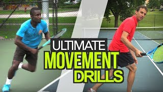 ULTIMATE Movement drills w/Jeff Salzenstein - tennis lesson
