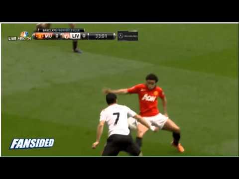 Rafael Handball+ Manchester United vs Liverpool 2014 aabhc