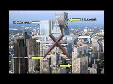 LONDON | No.1 Undershaft | 290m | 951ft | 73 fl | Pro