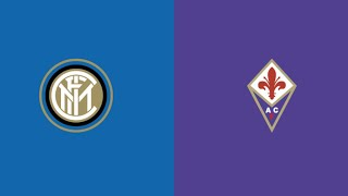 INTER FIORENTINA - TELECRONACA IN LIVE STREAMING - COPPA ITALIA - 29/01/20
