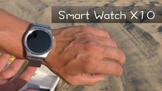Распаковка Smart Watch X10 на пляжу )(Очередные умные часы от китайцев. Данные часы ни чем особенным не выделяются из общей массы. Радует выбор..., 2016-08-15T16:00:04.000Z)