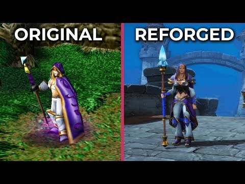 Warcraft 3 – Original vs. Reforged Trailer Graphics Comparison
