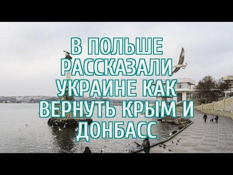 🔴 В Польше рассказали, как Европа может помочь Украине вернуть Крым и Донбасс