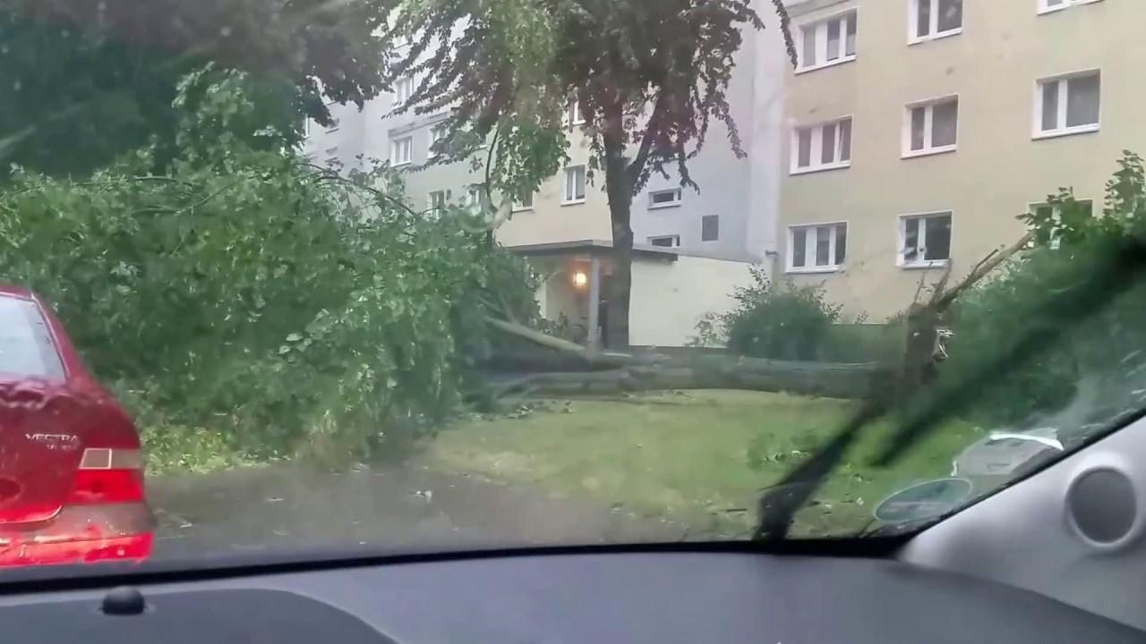 Magdeburg Unwetter