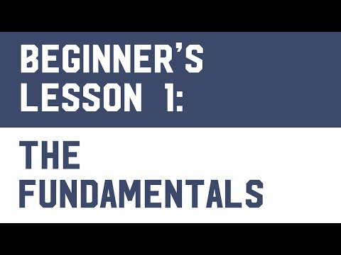 Bitcoin Trading (Free Course) Lesson 1: The Fundamentals