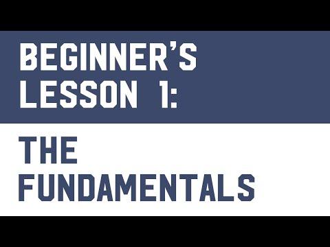 Bitcoin Trading (Free Course) Lesson 1: The Fundamentals