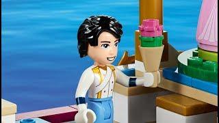 迪士尼小美人魚故事樂高版~淘寶購買的海底宫殿與魔法咒语/Dsney princess the little mermaid Lego Version