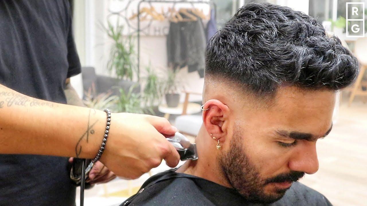 Mid Taper Haircut Curly Hair 89