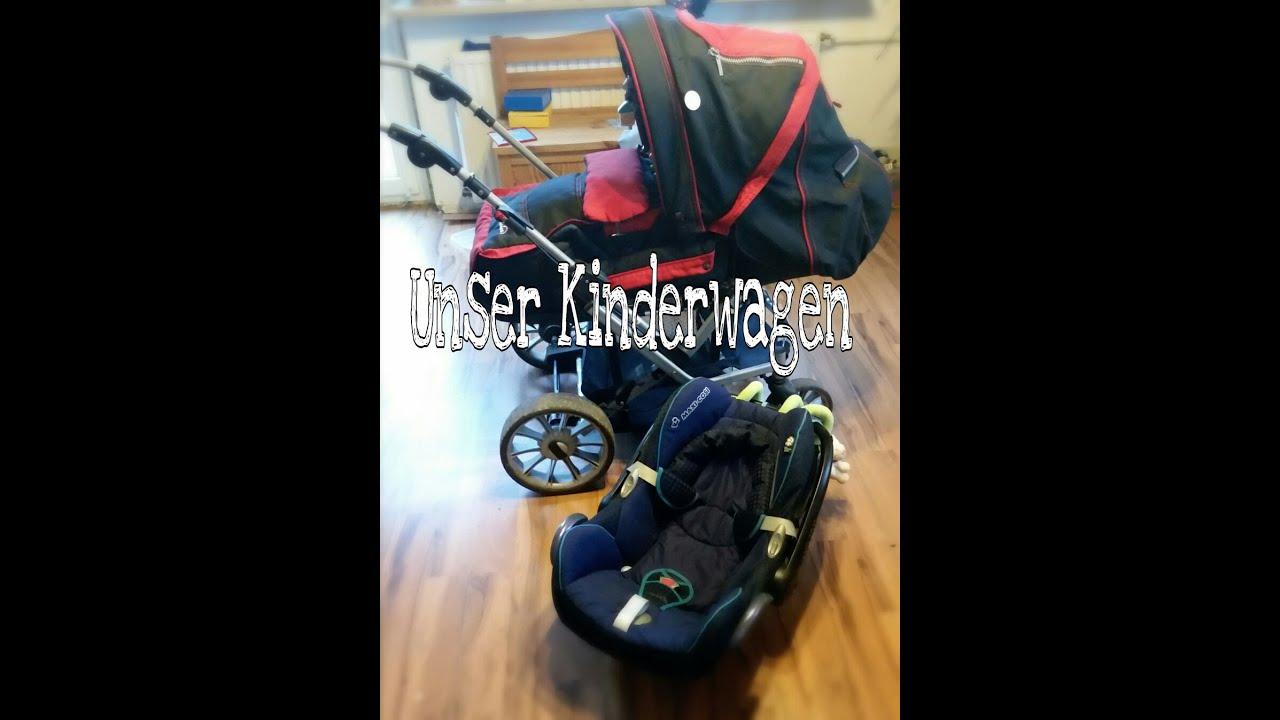 unser kinderwagen teutonia mistral s maxi cosi capriofix reborn baby deutsch youtube. Black Bedroom Furniture Sets. Home Design Ideas