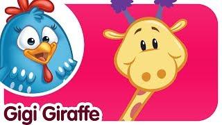 GIGI GIRAFFE - Lottie Dottie ENGLISH KIDS SONG with lyrics
