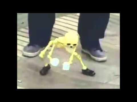 Wake me up inside skeleton toy