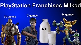 Sony Fans Call Xbox Franchises Milked, Hilarious It's PlayStation Franchises That Are Really Milked!