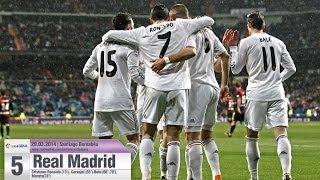 Resumen | Highlights: Real Madrid 5-0 Rayo Vallecano