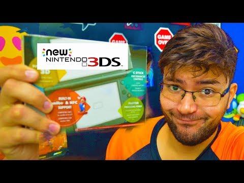 TENHO MAIS DE 100 JOGOS NO NINTENDO 3DS