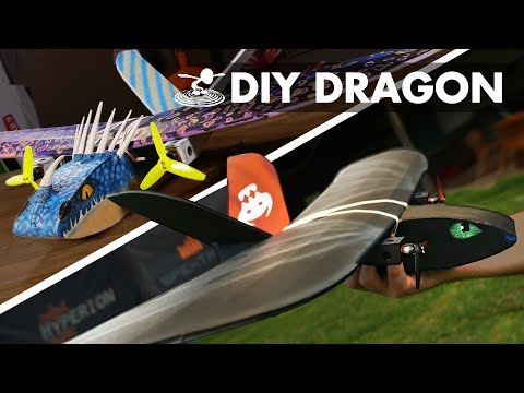 HOW TO FLY YOUR DRAGON - FT Twin Sparrow DIY Plane