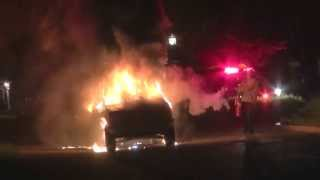 Schenectady car fire May 12, 2013