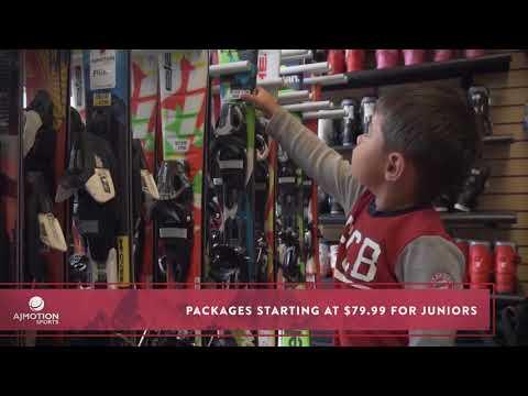 Season Rentals Utah | Ski and Snowboard Rentals | AJ Motion