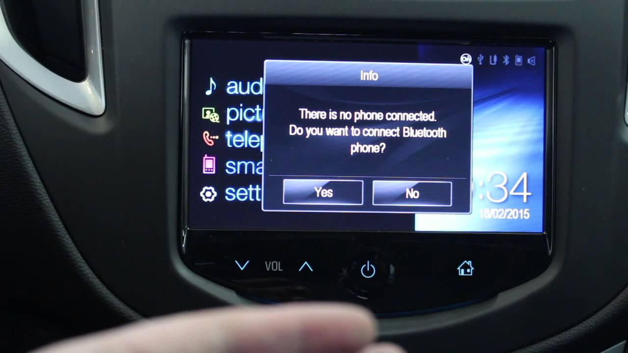 My Link Chevrolet >> Touch Screen Basics - Chevrolet Sonic and Trax With MyLink - YouTube