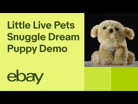 Little Live Pets Snuggles My Dream Puppy Demo | EBay Top Products
