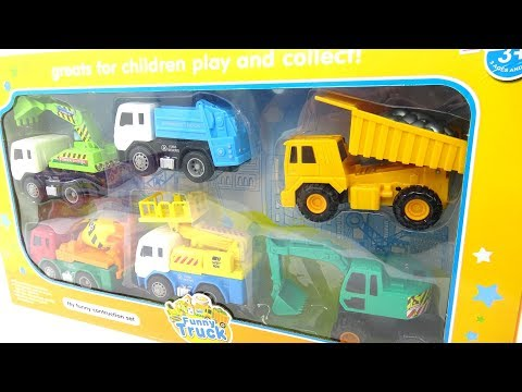 Mary Mary Quite Contrary - Construction truck toys for kids D33S
