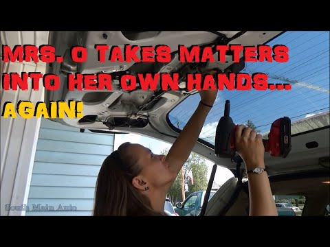 mrs  o takes matters into her own hands… again! vehicle tsb analysis